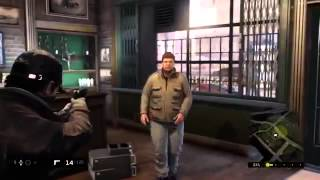 Watch Dogs Gameplay PS4 beta (2014)