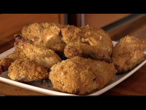 Oven Fried Buttermilk Chicken in the Rec Tec Grill!