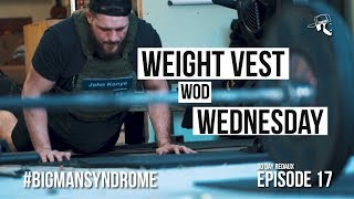Rowing, Burpees, Squats w/ Weight Vest | 30 Day Redaux | Episode 17