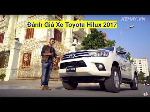 [XEHAY.VN] nhận xét xe Toyota Hilux 2017 ở Việt Nam |4k|