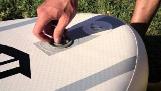 Inflatable Paddle Board Set-Up Instructions