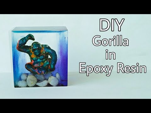 DIY Gorilla In Resin | Epoxy Resin Gorilla | Gorilla | ResinCraft | Resin Tutorial