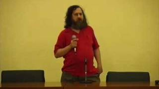 El movimiento del software libre.Richard Stallman