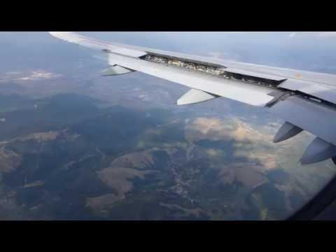Sibiu (SBZ),Final descent & landing, Runway 09