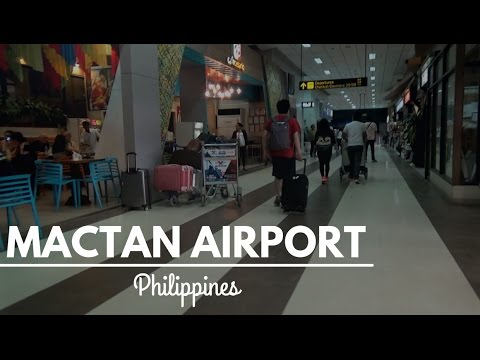 Philippines: Mactan International Airport and Back to German