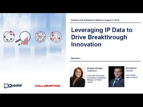 Knowledge Sharing Webinar - Leveraging IP Data to Drive Breakthrough Innovation