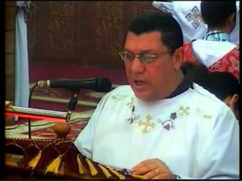 انجيل قداس عيد العذراء مريم للمعلم ابراهيم عياد 2012