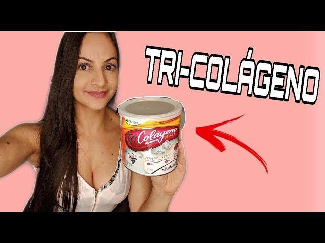 TRI-COLÁGENO - Suplementação completa de colágeno que uso atualmente!