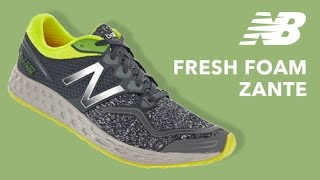 Running Shoe Overview: New Balance Fresh Foam Zante