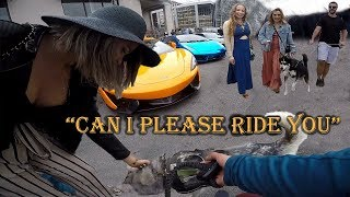 Millions Of Dollars Worth Of Exotic Cars | Husky ATTRACTS More Women Than Ferrari