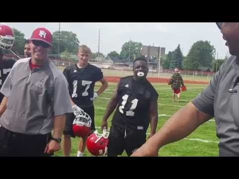Port Huron High School Football 2016 Camp Day 2