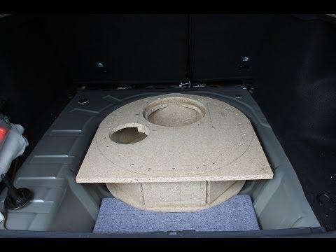 subwoofer reserverad pioneer ts wx610a einbau tutorial. Black Bedroom Furniture Sets. Home Design Ideas