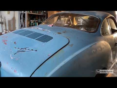 First start in over 30 years 1967 VW Karmann Ghia Barnfind Part 1 Wheels & Tires