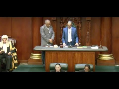 Swearing in of Governor Designate, Anwar Choudhury