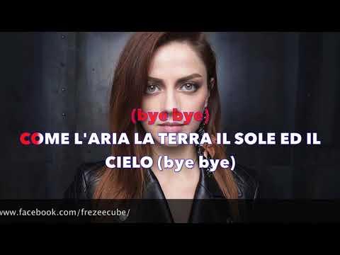 Annalisa - Bye Bye - Karaoke con testo