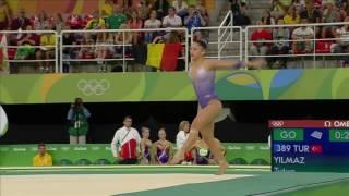 Tutya Yilmiz 2016 Olympics QF FX
