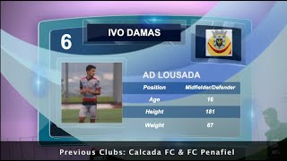IVO DAMAS - AD LOUSADA - Skills - 2020 -