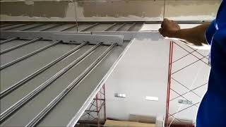 PANELLUX Linear Ceiling 75R Installation