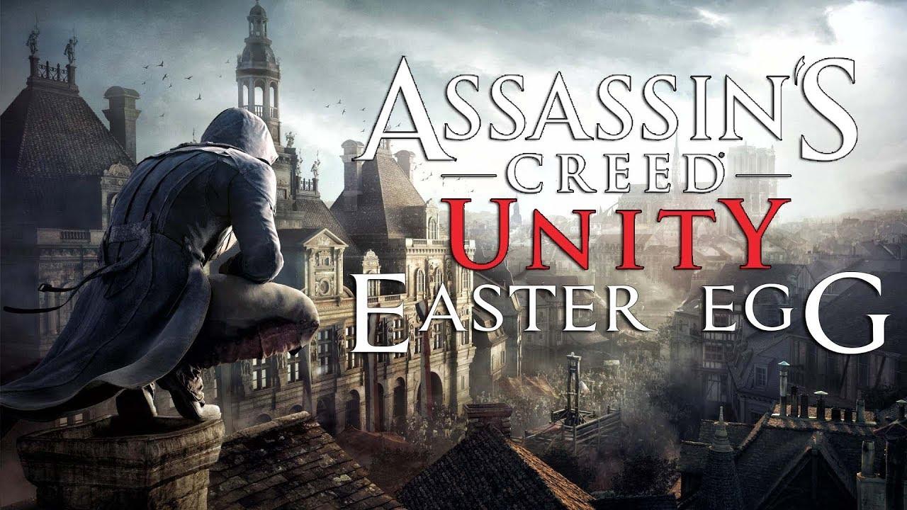 Пасхалки и Секреты в Assassins Creed: Единство/Easter Egg