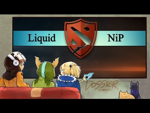 [ Dota2 ] Liquid vs NiP - The Defense Season 5 - Thai Caster