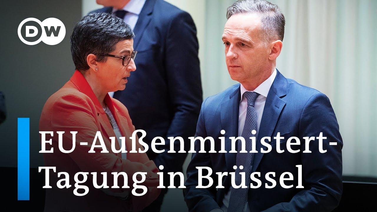EU-Außenminister-Tagung: Wie umgehen mit der Türkei und China?