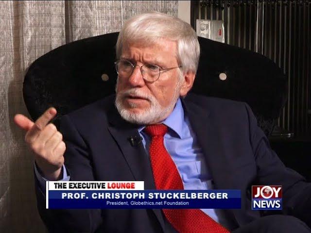 Prof. Christoph Stuckelberger - The Executive Lounge on JoyNews (12-3-18)