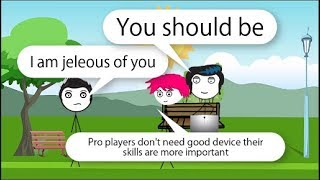 When a gamer gets jeleous of his friend