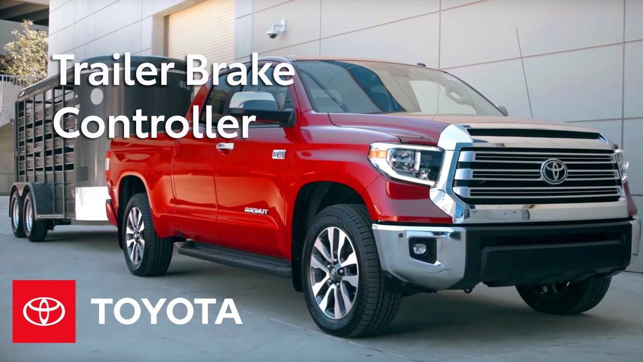 toyota how-to: toyota tundra integrated trailer brake controller | toyota