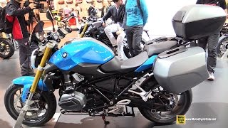 2015 BMW R1200R Low Seat - Walkaround - 2014 EICMA Milan Motorcycle Exhibition