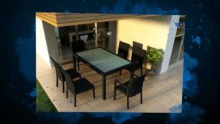 7 Piece Urbana Rattan Outdoor Dining Set By Harmonia Living