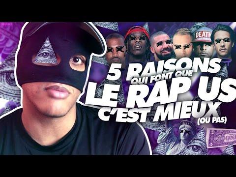 5 RAISONS QUI FONT QUE LE RAP US C'EST MIEUX.. (OU PAS) - MASKEY