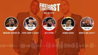 First Things First audio podcast (5.28.19)Cris Carter, Nick Wright, Jenna Wolfe | FIRST THINGS FIRST