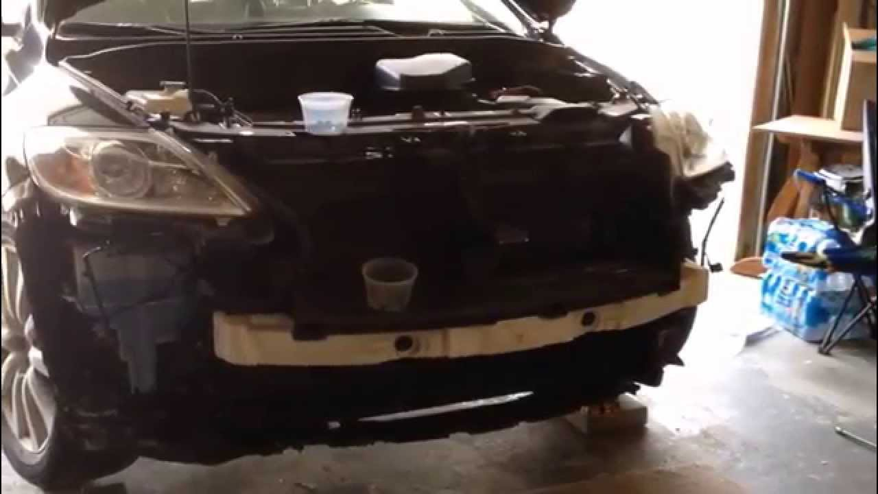 maxresdefault mazda cx 9 front bumper removal step by step 2010 2014 youtube  at edmiracle.co