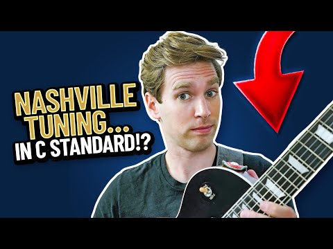 Nashville Tuning, but Tuned Down?