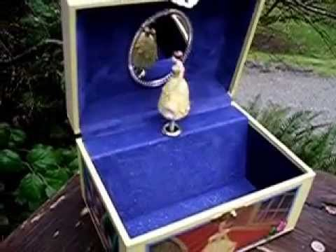 Disney Beauty the Beast Jewelry Music Box YouTube