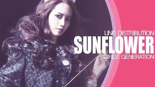 SUNFLOWER - GIRLS' GENERATION (LINE DISTRIBUTION)