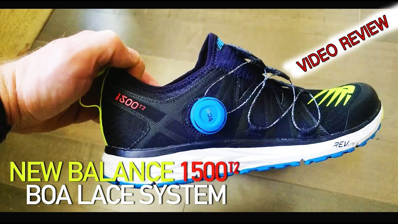 super popular 0cec3 4afba VIDEO REVIEW - New Balance 1500T2 with BOA Lace System