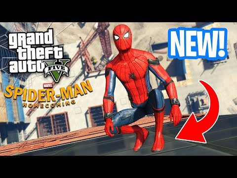 ULTIMATE SPIDERMAN MOD!! (GTA 5 Mods)