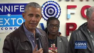 Word for Word: Former President Obama Campaigns on Eve of Midterm Elections (C-SPAN)