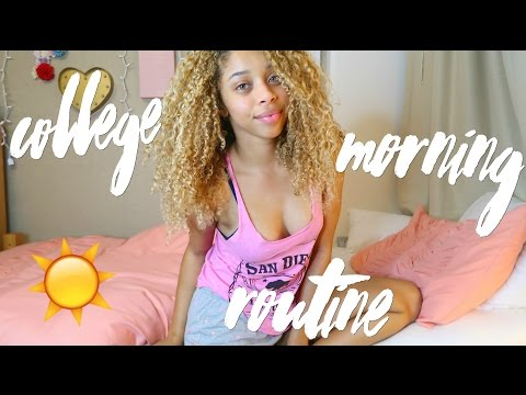 College Morning Routine & GRWM 🌸 | UCLA Spring Edition