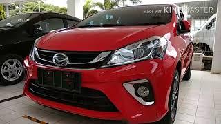 Car Review Daihatsu Sirion Automatic Merah 2018 - Indonesia