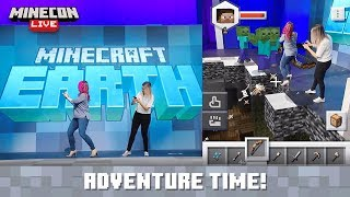MINECON Live 2019: Adventures in Minecraft Earth