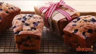 Zucchini Recipes - How To Make Blueberry Zucchini Bread