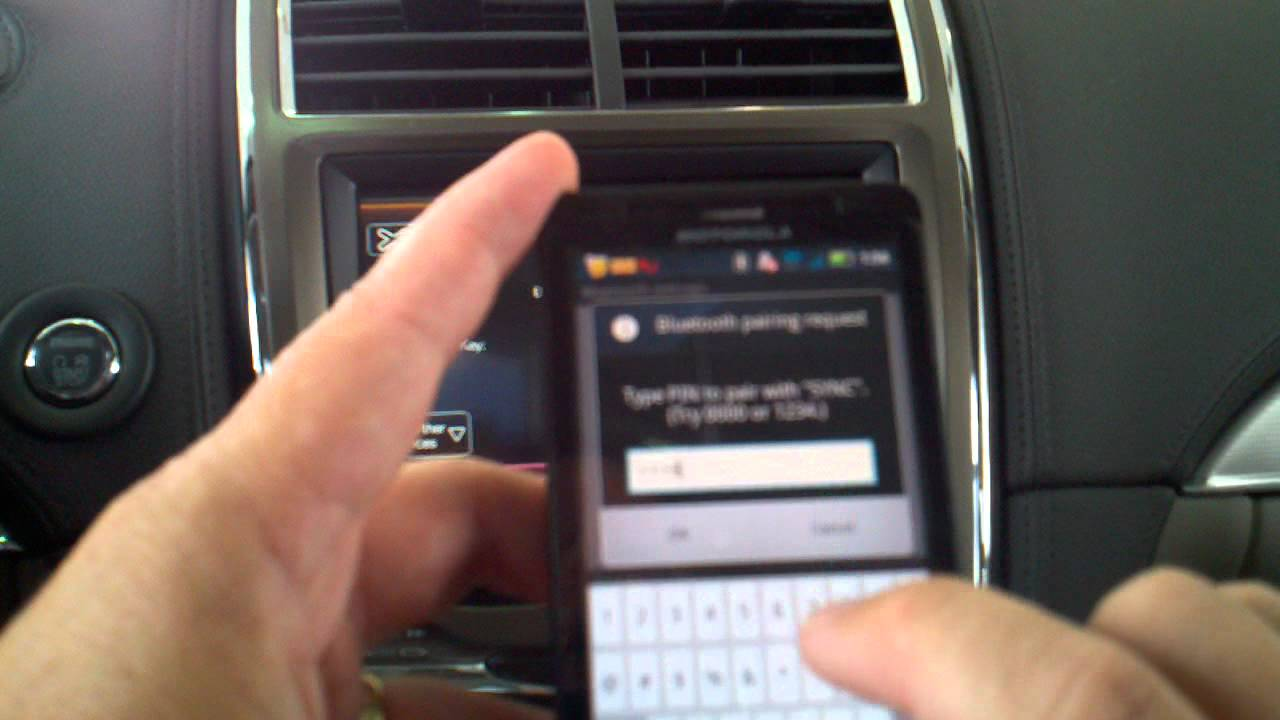 syncing an android device to microsoft sync with my lincoln touch or my ford touch youtube. Black Bedroom Furniture Sets. Home Design Ideas