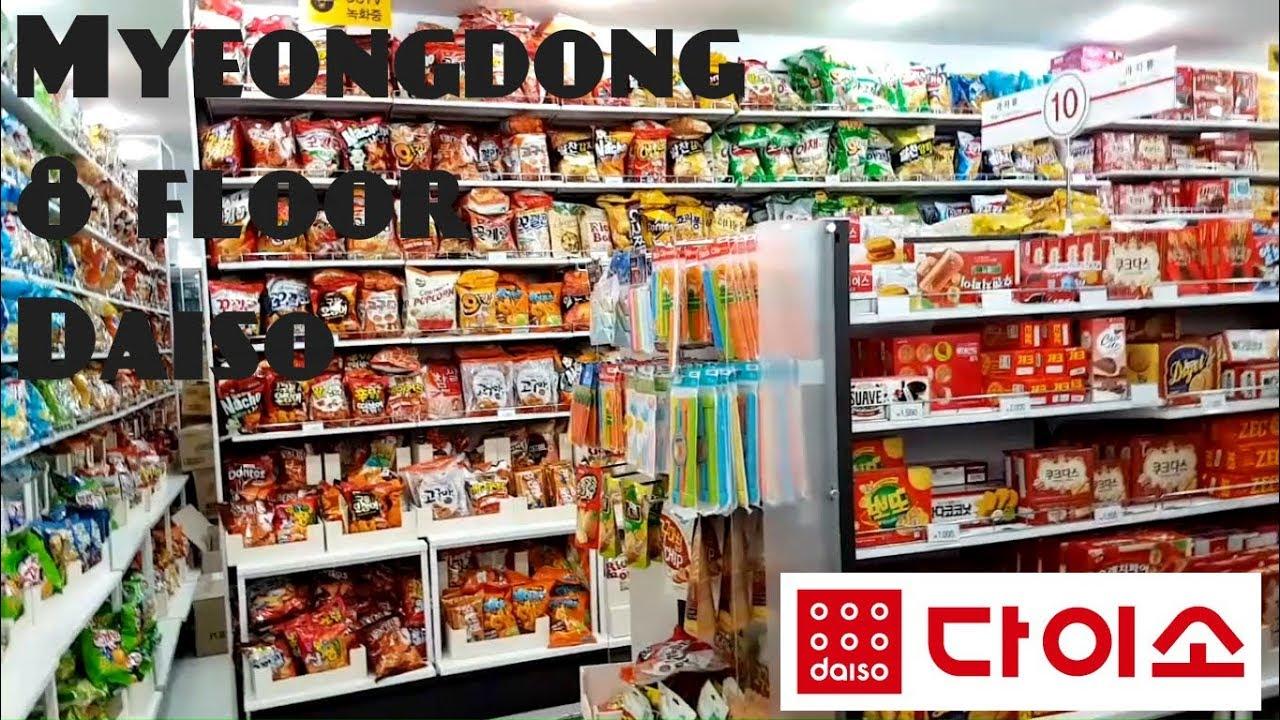0b3a9f903d8 Myeongdong 8 floor Daiso (Seoul