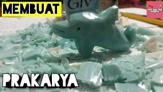 Cara Membuat Patung Sabun Lumba lumba Soap Carving Tutorial DIY 1
