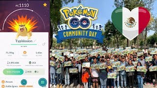 ¡NIANTIC DE REGRESO EN MÉXICO! COMMUNITY DAY CYNDAQUIL SHINY POKEMON GO !!