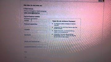 Paypal Konto Eröffnen Dauer