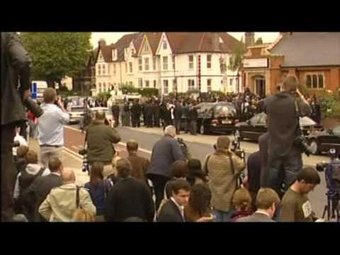 Mark Duggan's funeral (BBC1 London Coverage)