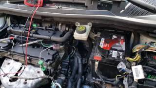 Citroën C4 1.4 petrol KFU, engine light on, P0351. Fault finding and repair.